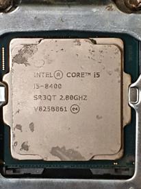Intel I5-8400 2.80GHZ cpu