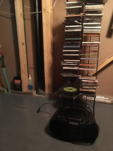 2 CD Players and random types of CDs