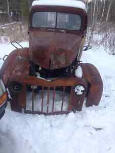 For Sale 1947 Ford Truck Body and Frame