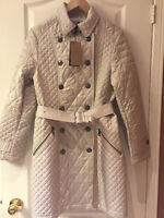 ORIGINAL BURBERRY DIAMOND QUILTED LONDON TRENCH COAT