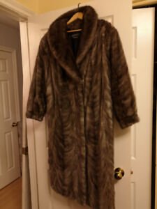 vintage mink coat made by Scotia Furs of Truro