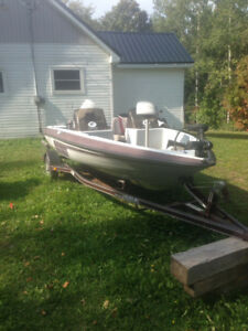 Bass boat 16.5ft buy/trade
