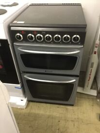 Hotpoint Creda Electric black and silver ceramic top Cooker