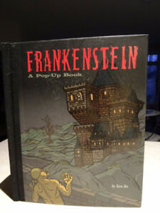 2010 FRANKENSTEIN pop-up book SAM ITA fabulous monster LARGE