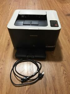 Samsung clp 325w color laser printer