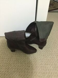 Brown size 5.5 Leather Boots London Ontario image 2