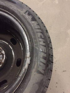4 Michelin Tires on Rim  - 205/60R16 92V - Good Condition