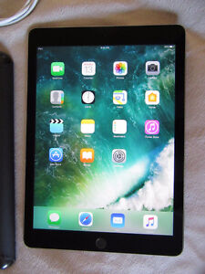 iPad Air 2 wifi space gray model in like new condition