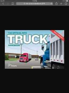 Official MTO Drivers, Truck and Air Brake Handbooks