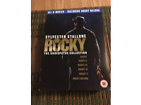 Rocky DVD collection 6 DVDs
