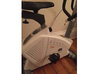 BH exercise bike + vibration plate £120