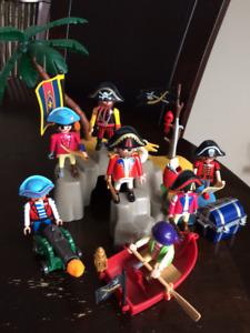 Playmobil - Scène pirate 1