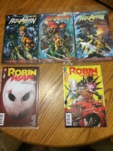 DC comics for sale (Aquaman and Robin)
