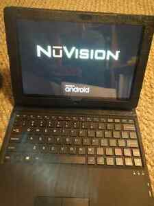 "NuVision 13"" Tablet, Case and Keyboard"