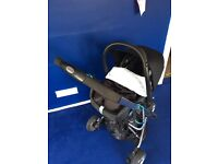 OBaby buggy and maxi-cosy car seat