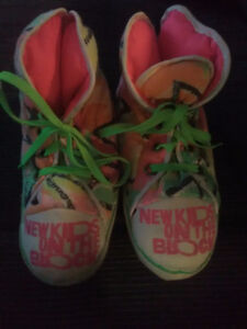 Vintage 1990 New Kids on the Block Slippers