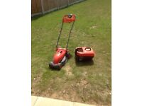 FLYMO VISMO 240volt ELECTRIC LAWN MOWER!