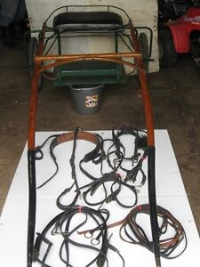 Poney harness and Cart