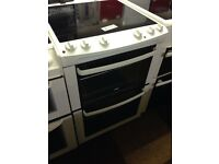 ZANUSSI 60CM DOUBLE OVEN FAN ASSISTED ELECTRIC COOKER0380