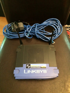 Linksys Router with networking cord