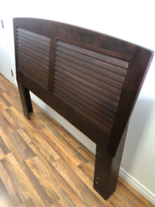 Wood Headboard for Double Bed