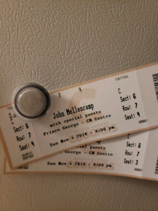 2 John Mellencamp tickets