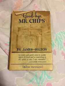 Antique book Goodbye Mr Chip 1934
