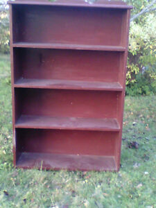 ALL  WOOD  BOOKCASE,  $25