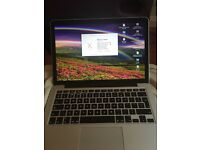 MacBook Pro 13-inch Retina dual-core i5 2.4GHz/8GB/256GB/Iris Graphics