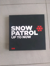 Snow patrol never used special edition up to now album box set