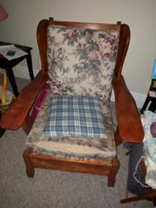 Antique livingroom chairs