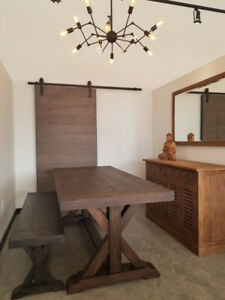 Factory Pricing - Reclaimed Wood Dining Table