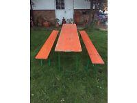 German festival benchs 220 cm