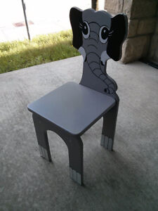 Wooden chair for toddler