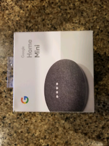 Brand New Sealed Google Mini Home w/smart assistant