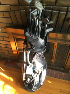 Mizuno Cimarron Clubs and Irons with Ping Travel Bag