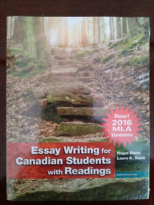 Essay writing for Canadian students with readings 8th edition