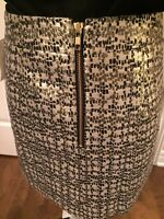 H&M GOLD SKIRT--- new with tags !