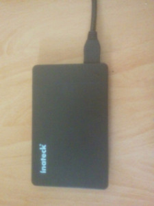 500GB External USB 3.0 Hard Drive with removable enclosure