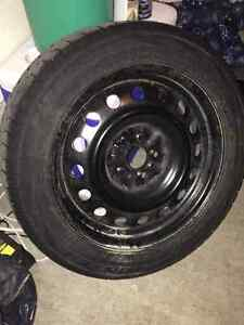 4 tires with rims 205/55 R16