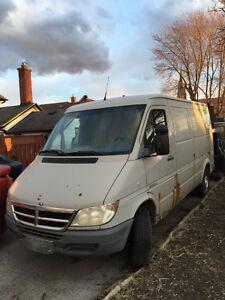 2006 Dodge Sprinter Minivan, Van parts