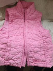 Pink Kids Gilet