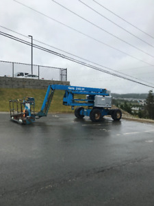 REDUCED...Genie Z-60/34 4WD Deisel Boom Lift for sale