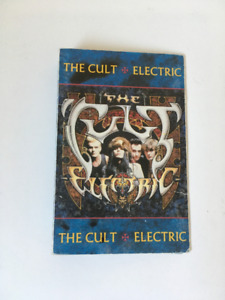 Signed copy of The Cult 'Electric'