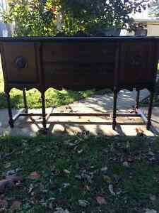 Antique dinning table and buffet London Ontario image 2
