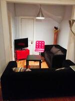 Chambre disponible sur le plateau. 450$/mois. tout inclus!