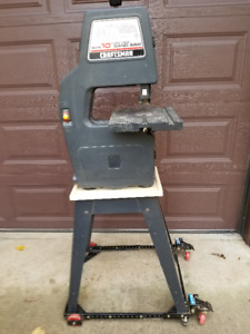 Bandsaw and stand