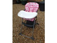 Baby & toddlers high chair with tray table