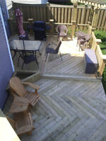 Barrier Fence and Deck   Spring is Here, Call Us Today!