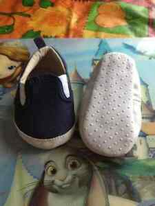 Old navy, blue shoes